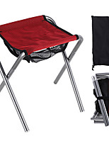 cheap -Camping Stool Portable Ultra Light (UL) Foldable Comfortable Oxford Cloth Aluminum Alloy for 1 person Fishing Beach Camping Traveling Autumn / Fall Winter Red Grey