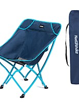 cheap -Camping Chair Multifunctional Portable Breathable Ultra Light (UL) Oxford for 1 person Fishing Beach Camping Traveling Autumn / Fall Winter Blue Grey
