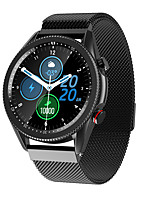 cheap -M98 Smartwatch for Android iOS Bluetooth IP 67 Waterproof Level Touch Screen Heart Rate Monitor Blood Pressure Measurement Sports Calories Burned ECG+PPG Stopwatch Pedometer Call Reminder Sleep
