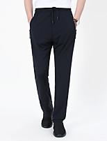 cheap -Men's Hiking Pants Trousers Summer Outdoor Quick Dry Multi Pockets Breathable Sweat wicking Spandex Pants / Trousers Bottoms Black Dark Gray Dark Blue Hunting Fishing Climbing M L XL XXL XXXL
