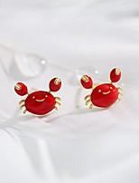 cheap -Women's Stud Earrings Animal Cute Earrings Jewelry Red For Festival