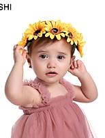 cheap -european and american cross-border creative simulation sunflower baby headband fashion little daisy studio photo props children headband