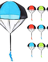 cheap -Parachute Toys 10pcs Tangle Free Throwing Parachute Figures Skydive Parachutes Man Hand Throw Soldier Toss It Up and Watching Landing Outdoor Flying Toys for Kids Gifts