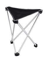 cheap -Camping Stool Tri-Leg Stool Multifunctional Portable Breathable Ultra Light (UL) Aluminum Alloy for 1 person Fishing Beach Camping Traveling Autumn / Fall Winter Black