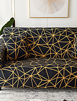 cheap -Sofa Cover Oblique Grid Print Furniture Protector Soft Stretch Spandex Jacquard Fabric