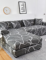 cheap -1 Pc Geometric Gray Lines Sofa Cover Elastic Sofa Cover To Living Room Pet Sofa Dust Cover Recliner Sofa Cover