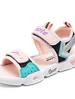 cheap -Unisex Sandals Comfort Slingback School Shoes PU Big Kids(7years +) Training Daily Hiking Shoes Walking Shoes Yellow Pink Orange Summer