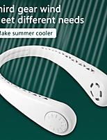 cheap -Wearable Lazy Sports Halter Fan Mini Hanging Neck Fan USB Rechargeable Cover Halter Sports Fan Air Cooler