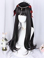 cheap -Black Sweet Style Lolita Wig 70 inch Cosplay Wigs Other Wig Halloween Wigs