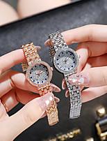 cheap -2021 southeast asia round gold watch starry rhinestone lady's watch fashion starry sky quartz watch small watch