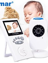cheap -smar 2.4 inch audio video wireless baby monitor security camera baby nanny music intercom night vision temperature monitoring