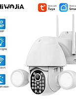 cheap -tuya smart tuya double fill light ball machine 3mp high-definition camera security surveillance camera smart home