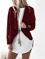 cheap -cross-border source of aliexpress 2017 new lapel woolen coat jacket women's clothing