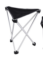 cheap -Camping Stool Tri-Leg Stool Portable Ultra Light (UL) Foldable Comfortable Oxford Cloth Aluminum Alloy for 1 person Fishing Beach Camping Traveling Autumn / Fall Winter Black
