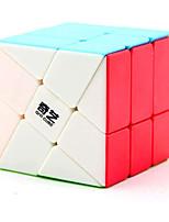 cheap -Qiyi Windmill 3x3 stickereless Magic Cube Qiyi Wheel Fenghuolun 3x3x3 Speed Cube Puzzle