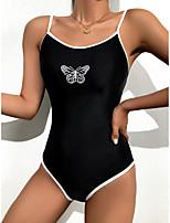 cheap -Women's One Piece Swimsuit Nylon Swimwear Bodysuit Breathable Quick Dry Sleeveless Swimming Surfing Water Sports Summer