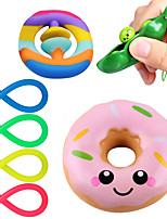 cheap -7 pcs Sensory Fidget Toys Set Soybean Squeeze Stress Relief Balls with Fidget Hand Toys for Kids Adults Calming Toys for ADHD Autism Anxiety Relief