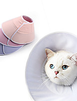 cheap -Dog Cat Pet Cone Pet Recovery Collar Elizabeth circle Adjustable Stress Relieving Safety Anti-Bite Lick Wound Healing After Surgery Protective Walking Avocado Bread Shaped Cotton Small Dog Blue Pink