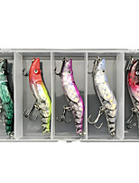 cheap -5 pcs Lure kit Fishing Lures Crawfish lifelike 3D Eyes Bass Trout Pike Sea Fishing Lure Fishing Freshwater and Saltwater