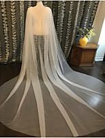 cheap -Sleeveless Elegant / Romantic Tulle Wedding / Holiday Women's Wrap With Metal