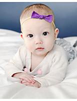 cheap -40 color baby headband jewelry cute baby handmade nylon bow headdress soft and elastic does not hurt the hair ring