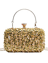 cheap -Women's Bags Top Handle Bag Glitter Shine Party Beach Evening Bag Handbags Black Blushing Pink Gold Silver