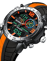 cheap -business sports multi-function dual display men's watch
