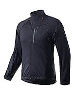 cheap -men's cycling jacket, bike softshell jacket, windbreaker, zip-off jacket (m)