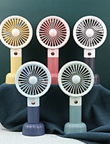 cheap -Mini Portable Fan Handheld Electric USB rechargeable fan Appliances Desktop Air Cooler Outdoor Travel hand fan