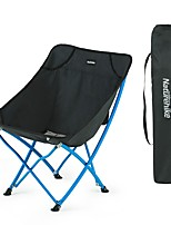 cheap -Camping Chair Multifunctional Portable Breathable Ultra Light (UL) Aluminum Alloy for 1 person Fishing Beach Camping Traveling Autumn / Fall Winter Black Red
