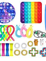 cheap -25pcs Sensory Toy Set Anti Stress Toy Sets Relief Stress Sensory Anxiety Stress Relief Toy Set Fidget Toys For Kids Adults