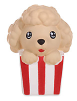 cheap -4.3 Inches Squishies Dog Popcorn Kawaii Slow Rising Scented Squishies Stress Relief Kid Toys Decorative Props