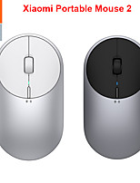 cheap -newest original xiaomi mi portable mouse 2 4-dpi 4000 2400 1800 1200 bluetooth rf2.4 aluminium metal abs windows 10 android mac