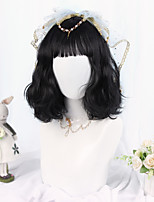 cheap -Black Sweet Style Lolita Wig 35 inch Cosplay Wigs Other Wig Halloween Wigs