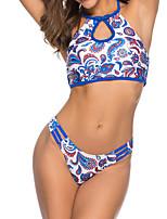 cheap -Women's Tankini Nylon Swimwear Quick Dry Sleeveless 2 Piece - Swimming Surfing Water Sports Summer