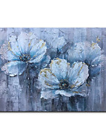 cheap -Oil Painting Handmade Canvas Wall Art Abstract Floral Oil Painting on Canvas Picture for Living Room Decoration No Frame Unstretched