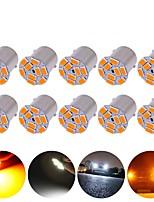 cheap -10PCS P21W LED 1156 BAU15S BA15S Bulb PY21W 1157 BAY15D 5630 9Smd Bulbs For Car Signal indicator bulb Turn Signal Light12V