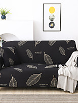 cheap -New Stylish Simplicity Print Sofa Cover Stretch Couch  Super Soft Fabric Retro Hot Sale Black White Feather