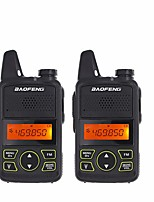 cheap -2pcs/lot BAOFENG T1 MINI Two Way Radio BF-T1 Walkie Talkie UHF 400-470mhz 20CH Portable Ham FM CB Radio Handheld Transceiver