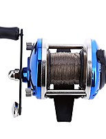 cheap -noyix mini casting fishing reel with fishing line 0.2mm for freshwater saltwater right hand