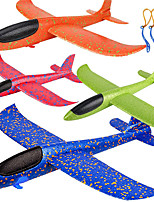 cheap -4 Pack Airplane Toys Upgrade 17.5 Inch Large Throwing Foam Plane 2 Flight Mode Glider Plane Flying Toy for Kids Gifts for 3 4 5 6 7 Year Old Boy Outdoor Sport Toys Birthday Party Favors Foam Airplane