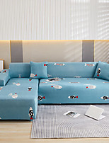 cheap -Stretch Sofa Cover Slipcover Elastic Sectional Couch Armchair Loveseat 4 or 3 seater L shape Animal Fish Soft Durable Washable
