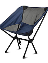 cheap -Camping Chair Portable Ultra Light (UL) Multifunctional Foldable Steel Tube for 1 person Fishing Beach Camping Traveling Autumn / Fall Winter Black Grey Dark Blue / Breathable / Comfortable