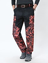 cheap -Men's Work Pants Hiking Cargo Pants Hiking Pants Trousers Camo Summer Outdoor Ripstop Quick Dry Multi Pockets Breathable Pants / Trousers Bottoms Jacinth +Gray Black / Orange Army Green Black / Green