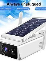 cheap -1080p solar camera battery powered wifi ip camera surveillance security camera weatherproof ip66 pir alarm night vision icsee
