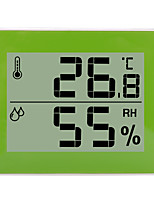 cheap -TS-E01 Portable / Multi-function Hygrometers Measuring temperature and humidity, LCD backlight display