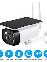 cheap -solar powered 1080p security camera outdoor wireless camera wifi ip camera battery camera weatherproof pir alarm tf card slot