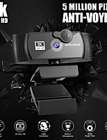 cheap -PC Webcam With Microphone 2K Full HD 1080P Widescreen Computer Game Video Work WebCamera Rotatable USB Web Camera Cam