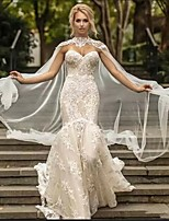 cheap -Sleeveless Elegant / Bridal Polyester Wedding / Party / Evening Women's Wrap With Lace