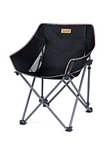 cheap -Camping Chair Multifunctional Portable Breathable Ultra Light (UL) Steel Tube Aluminum Alloy for 1 person Fishing Beach Camping Traveling Autumn / Fall Winter Black Khaki